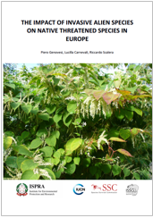The impact of invasive alien species on native threatened species in Europe