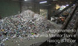 Aggiornamento piattaforma Monitor Piani e rilascio di REcer