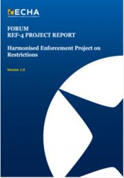 Rapporto ECHA - Restrizioni Allegato XVII REACH