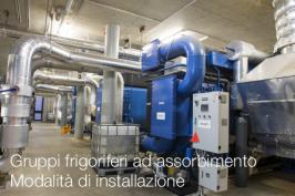 Gruppi frigoriferi ad assorbimento - Modalità di installazione