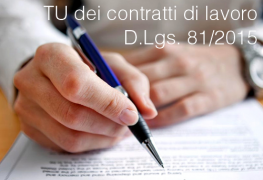 Decreto Legislativo 15 giugno 2015 n. 81