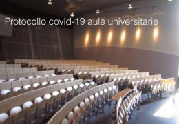 Protocollo covid-19 aule universitarie