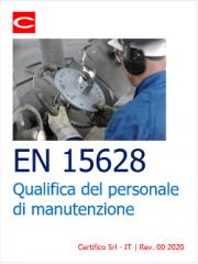 EN 15628 Qualifica del personale di manutenzione