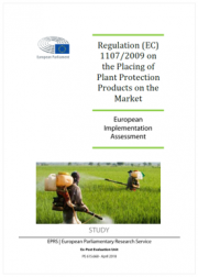Regulation (EC) 1107/2009 plant protection products