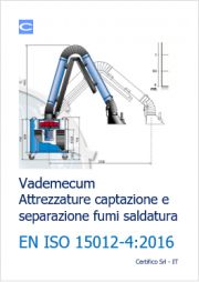 Vademecum attrezzature captazione fumi saldatura EN ISO 15012-4
