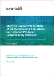 Study to Support Guidance for Extended Producer Responsibility Schemes