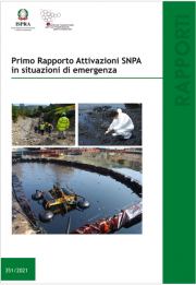 Primo rapporto attivazioni SNPA in situazioni di emergenza