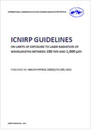 Radiazioni ottiche: ICNIRP Guidelines
