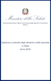 Vigilanza e controllo degli alimenti e bevande in Italia anno 2018