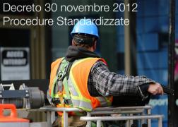 Decreto Interministeriale 30 novembre 2012