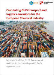 Calculating GHG transport and logistics emissions for the European Chemical Industry