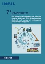 7° Rapporto sorveglianza Direttiva macchine  - INAIL 2013