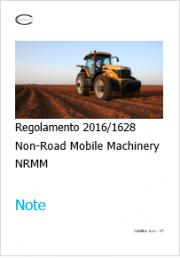 Regolamento (UE) 2016/1628 NRMM - Note