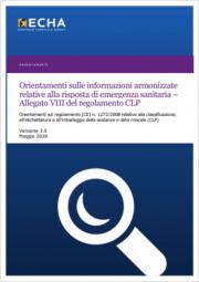 Orientamenti informazioni armonizzate risposta di emergenza sanitaria