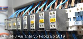 CEI 64-8;V5 del 01/Feb/2019