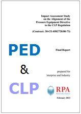 Impact Assessment Study on the alignment of the Pressure Equipment Directive to the CLP Regulation