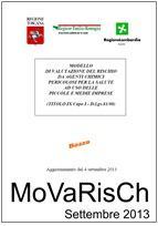 MoVaRisCh - Valutazione Rischio Chimico 09.2013