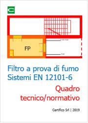 Filtro a prova di fumo e sistemi EN 12621-6