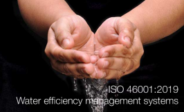 ISO 46001:2019 | Water efficiency management systems