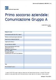 Comunicazione Primo Soccorso (D. 388/2003 Art. 1 c2)