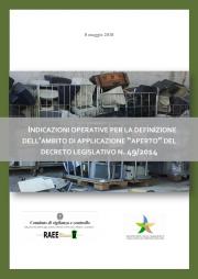 Indicazioni operative ambito applicazione direttiva RAEE