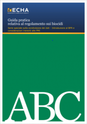 Guida pratica regolamento sui biocidi BPR