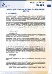 Gestione dei disturbi muscolo-scheletrici nel settore sanitario