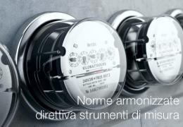 Norme armonizzate direttiva strumenti di misura Luglio 2012