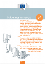 Guidelines Regulations (EU) n. 811-812-813-814/2013 and Regulations (EU) 2015/1187-1189