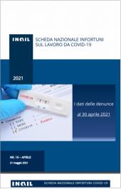 Covid-19   Contagi sul lavoro denunciati all'INAIL: Schede regionali 30 Aprile 2021