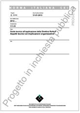 Guida Tecnica all'applicazione della Direttiva RoHS II - CEI