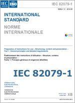 Istruzioni per l'uso: la nuova norma IEC 82079-1:2012