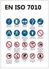 EN ISO 7010 Raccolta dei Segnali di sicurezza previsti dalla norma