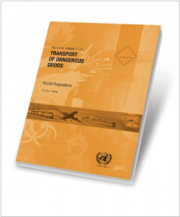 UN Model Regulations 21A  Revised edition (2019)