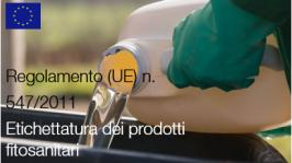 Regolamento (UE) n. 547/2011