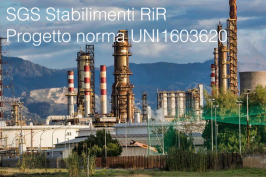 UNI1603620: Progetto norma SGS Stabilimenti RiR