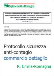 Protocollo sicurezza anti-contagio commercio dettaglio | ER