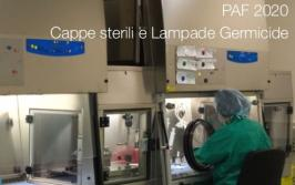 PAF 2020 | Cappe sterili e Lampade Germicide