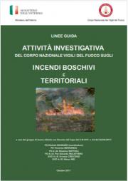 Linee guida attività investigativa incendi boschivi e territoriali VVF
