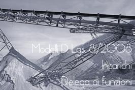 Modelli Incarichi e Deleghe funzioni D.Lgs. 81/08