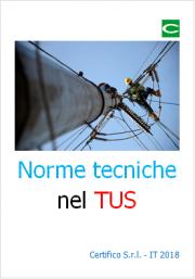 Norme tecniche nel TUS