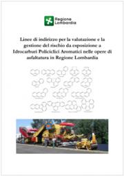 Linee guida valutazione rischio esposizione IPA asfaltatura