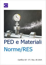 PED e materiali: Norme / RES