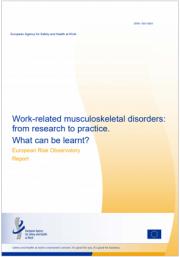 EU - OSHA 2020 | Disturbi muscolo scheletrici lavoro-correlati