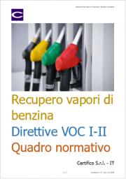 Recupero dei vapori di benzina | Quadro normativo