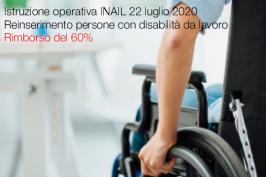 Istruzione operativa INAIL 22 luglio 2020