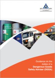 Guidance duties Dangerous Goods Safety Adviser (DGSA)