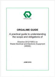Orgalime | Guide to understanding the scope and obligations of Directive RAEE