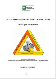 Utilizzo in sicurezza delle macchine ATS Brianza