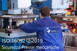 ISO 16092-2:2019 Sicurezza Presse meccaniche